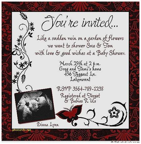 Freshers Invitation Card Templates by Baby Shower Invitation New Baby Shower Invitation