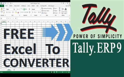 for free how to import data from excel to tally erp 9 for free