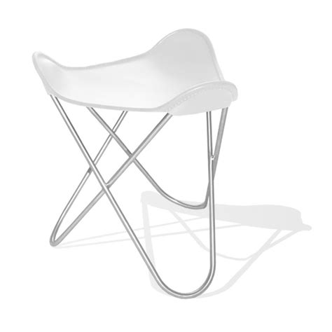 butterfly chair with ottoman hardoy butterfly chair original leather white with ottoman