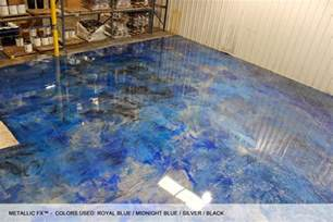 surfkoat unveils new metallic epoxy concrete floor