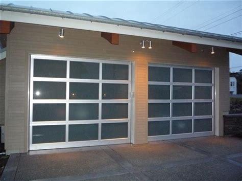Full View Aluminum All Glass Harbour Door Clear Garage Door