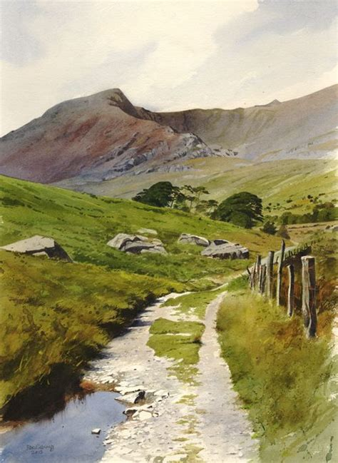 Landscape Artists Uk 25 Best Ideas About Watercolor Landscape On