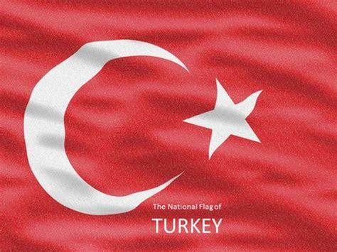 turkey flag powerpoint template