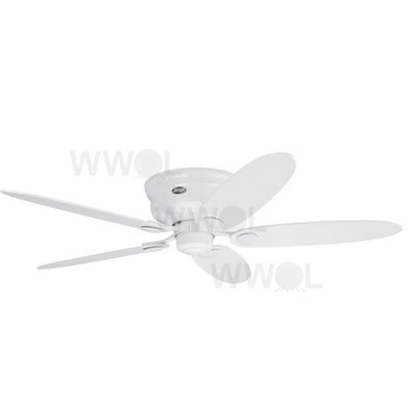 low profile iii white ceiling fan