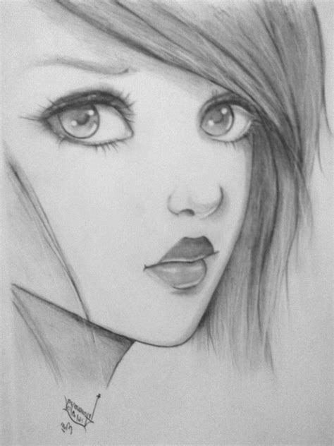Sketches To Trace by Easy Sketches To Draw With Pencil Drawing Sketch Library