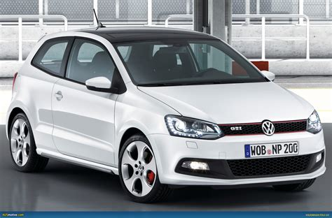 volkswagen polo ausmotive com 187 volkswagen polo gti breaks cover ahead of