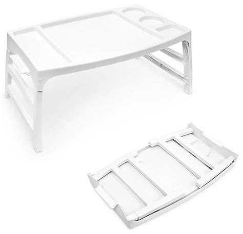 food tray for bed portable plastic lightweight serving bed breakfast lap