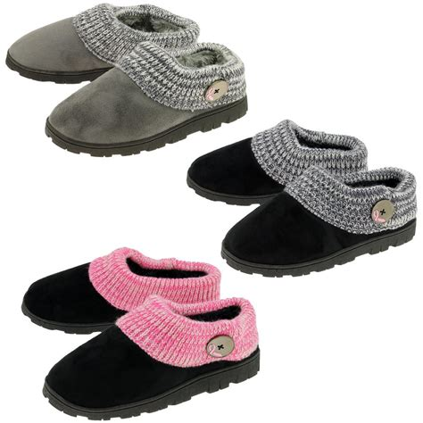 comfiest slippers pink ribbon comfy clog slippers