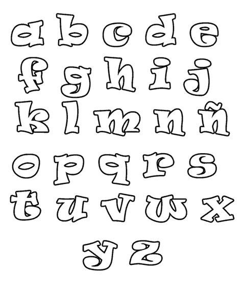 moldes de letras del abecedario para carteleras abecedario para colorear