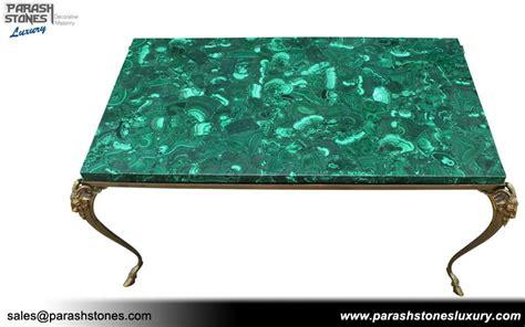 luxury slab furniture malachite semi precious gemstone sale price