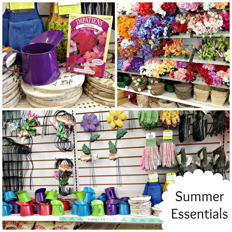 summer essentials from chicago decor stores what can you get for 1 dollar tree deals shop