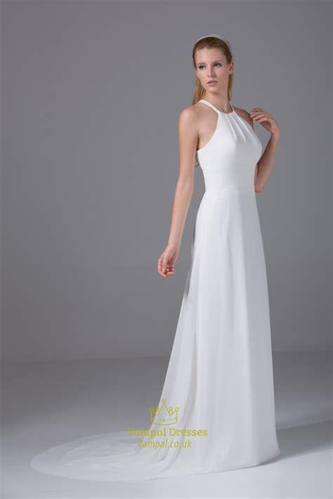 Chiffon Wedding Dress by Ivory Empire Waist Chiffon Wedding Dress Chiffon