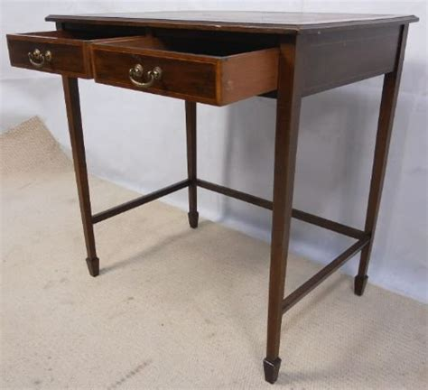 small ladies writing desk edwardian small ladies inlaid mahogany writing desk