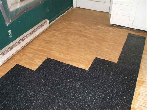 how to install commercial grade resilient tile