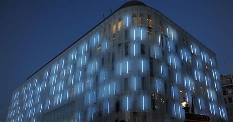 Outdoor Building Lights Fabulous Lighting Hotel Facade Design Hotel Resorts Villa Aprar