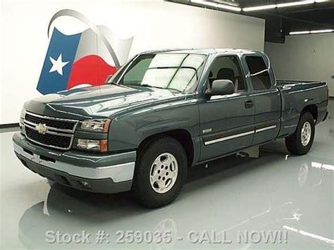 purchase used 2006 chevy silverado lt ext cab hybrid 6