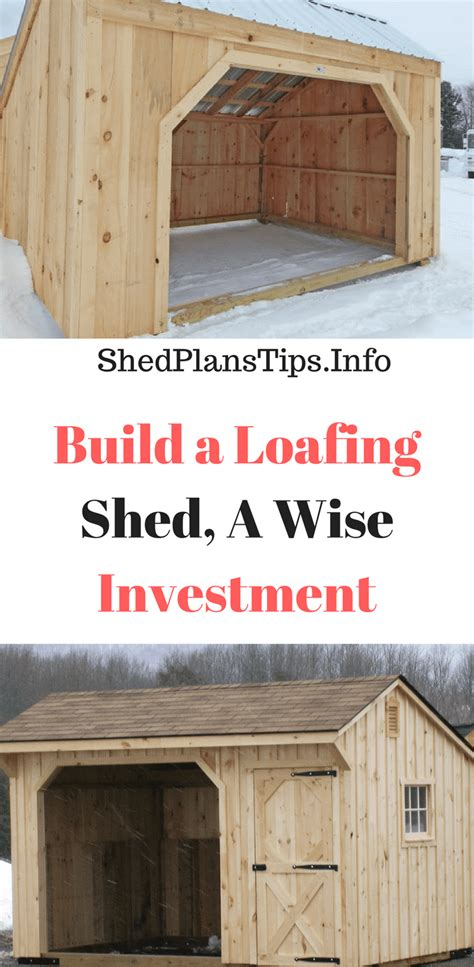 build  loafing shed  wise investment worth making