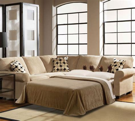 broyhill ethan sectional broyhill ethan 6627 full sized sleeper sectional