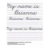 Handwriting For Kids Cursive Names Female Non JavaScript Lists