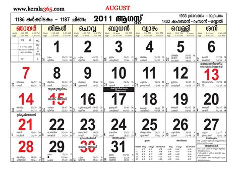 Malayalam Calendar Malayalam Calendar 2015 Zip