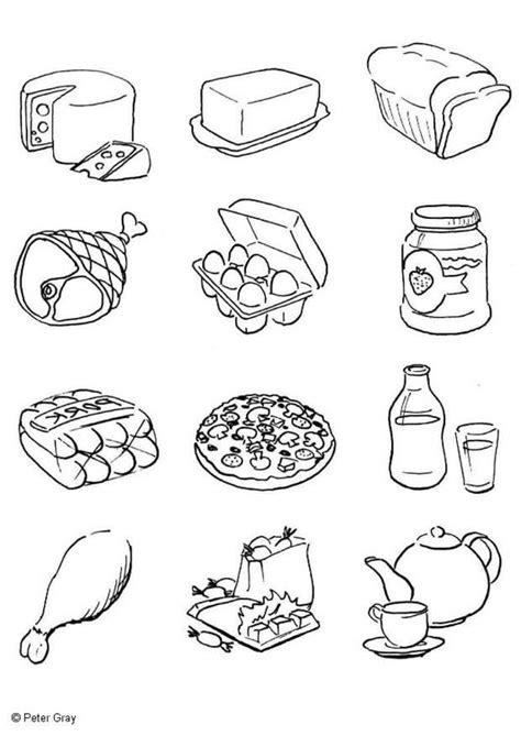 dibujo alimentos dibujo para colorear alimentaci 243 n img 6933