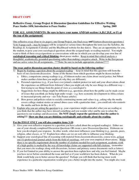 Reflective Essay Exles Nursing by The Unexposed Secret Of Reflective Essay Introduction Exle