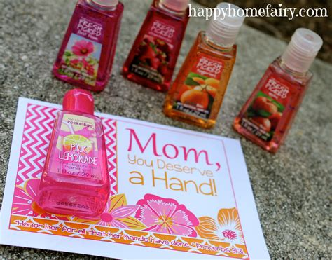 unique practical gifts for mother s day simple recipes easy mother s day gift idea free printable happy home