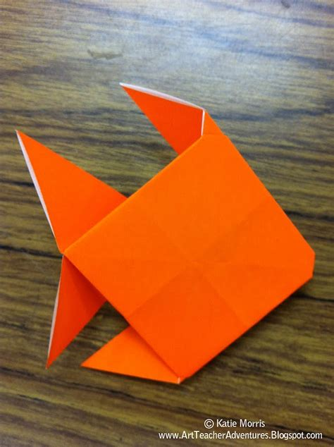 How To Origami Fish - simple origami fish 2016