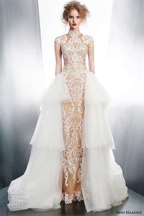 Gemy Maalouf 2015 Wedding Dresses ? Part 1   Wedding Inspirasi