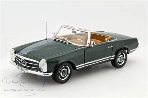 c453 green mercedes 230 sl w113 pagode cabriolet year 1963