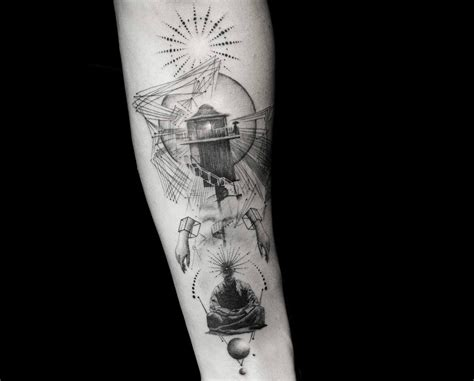 fine line tattoo new york ny tattooing the spirit of wanderlust with balazs bercsenyi