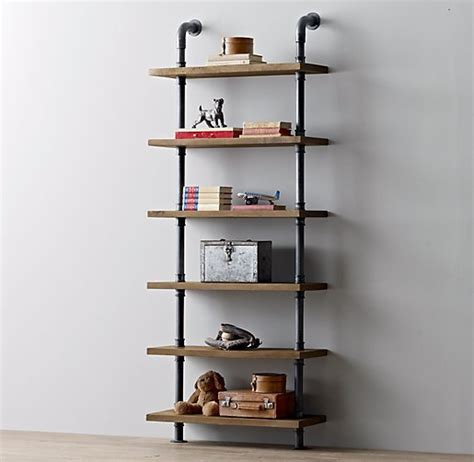 aliexpress buy loft iron water pipe bookshelf wood
