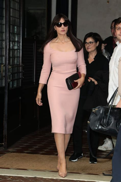 monica bellucci today monica bellucci leaves her hotel in new york 11 05 2015