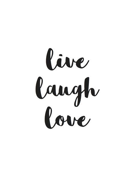 live laugh live laugh projekt stil