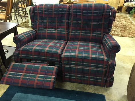 Plaid Sofa And Loveseat by Plaid Lazy Boy Loveseat 195 Forsale Mk Consignment