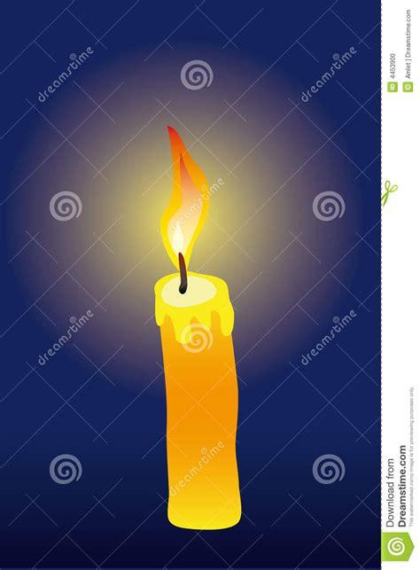 stock candele candle stock photo image 4453900