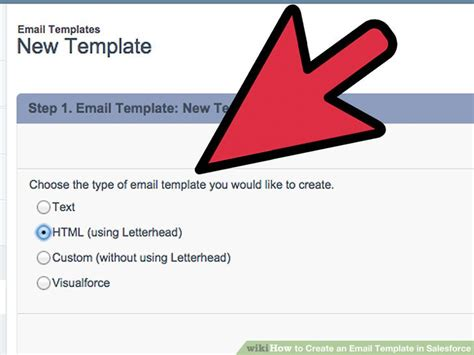 How To Create An Email Template In Salesforce 12 Steps Create Email Template In Salesforce