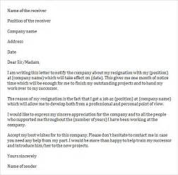 Resignation Letter Sle Uk Nhs Sle Resignation Letter Template 14 Free Documents In Word Pdf
