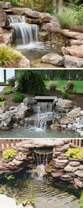 small waterfalls backyard small backyard waterfalls for modern house rock work