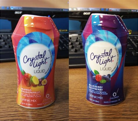 drinkable review crystal light liquid