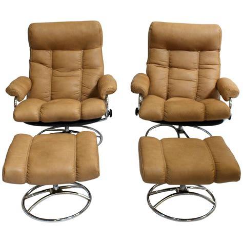 Scandinavian Reclining Chairs by Scandinavian Mid Century Modern Reclining Lounge Chairs