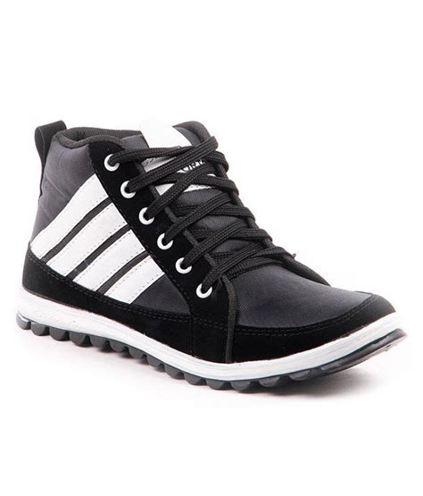 A L I V E Shoes foot n style black casual shoes buy foot n style black