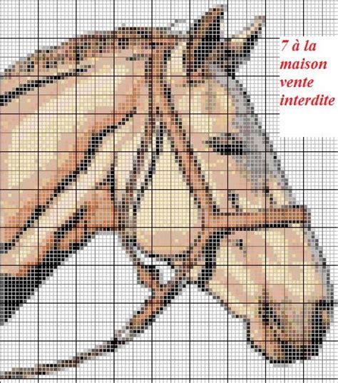 Grille Tricot Cheval by Album Chevaux Le De 7 224 La Maison Point De Croix