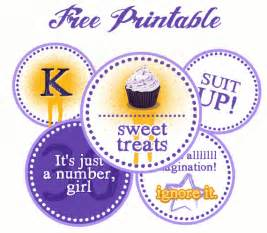 Template For Cupcake Toppers by 5 Best Images Of Free Printable Birthday Cupcake Topper