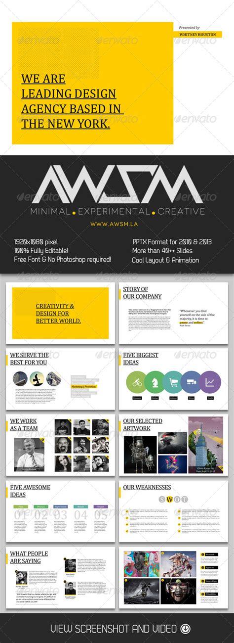 Minimalist Powerpoint Template Design Studio Graphicriver Powerpoint Templates Torrent