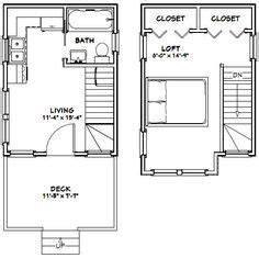 House Floor Plans With Loft 12x30 tiny house 12x30h1a 358 sq ft excellent