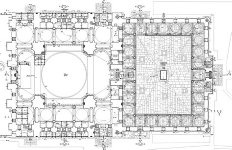 Floor Plan Of Mosque by Suleymaniye Mosque Istanbul Ephesus Tours