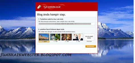 cara membuat website sendiri menggunakan html cara membuat website gratis menggunakan 123website co id
