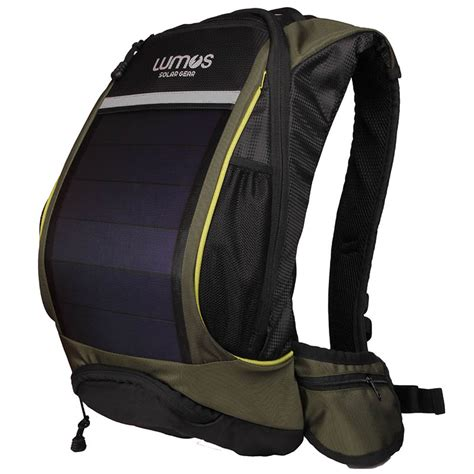 Picard Solar Bag Puts A Solar In A Leather Glove by Lumos India Thrillseeker Olive With 4000mah Battery