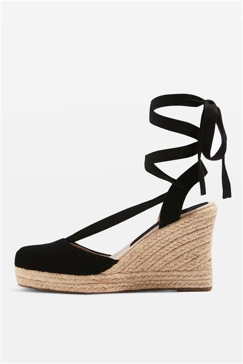 Piped Espadrille Wedge From Outfitters by Waves Espadrille Wedge Heels Sandals Topshop